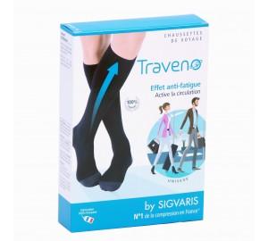 Chaussettes de Voyage Traveno par Sigvaris 34a1c67721a
